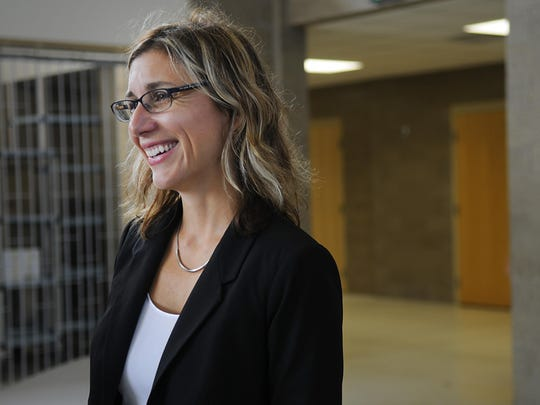 Kennedy Community School Principal Laurie Putnam pictured in 2015.