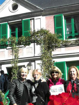 FRANCE                                                                            Kathy Robinson, Linda Moulakis, Mary Clevenger and Joyce Canfield, all of Upper Arlington, visit Monet's home in Giverny. They recommend a perfect plan from Paris: a combined half-day trip to Giverny with a half-day trip to Versailles. It's a valuable use of a tourist's limited time.