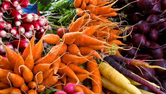 Continue thinning root crops, weeding, mulching and watering as needed.