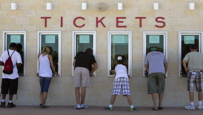 JetBlue and Fenway parks hold back several hundred tickets to be sold day of the game. You may not get in and you may not get the seats you want; it's risky. But so, it seems, is buying from a reseller.