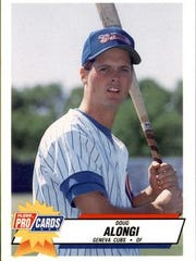 The Chicago Cubs drafted Doug Alongi, who played in