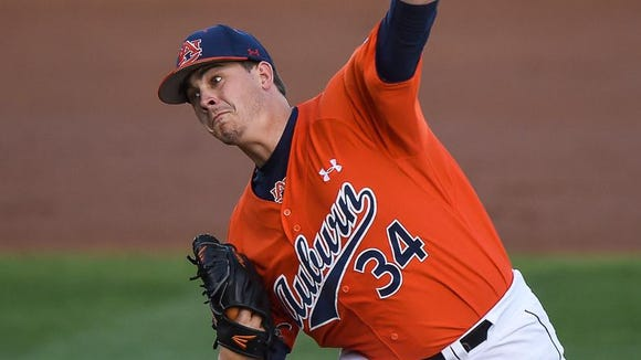 Ben Braymer gave up no hits in his first start for Auburn.