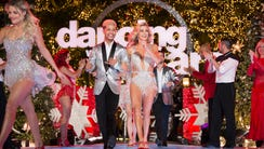 Lindsay Arnold and Jordan Fisher on night two of the