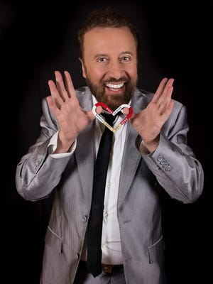 Yakov Smirnoff will perform at 2 p.m., Friday, Aug. 5, at the Stefanie H. Weill Center for the Performing Arts.