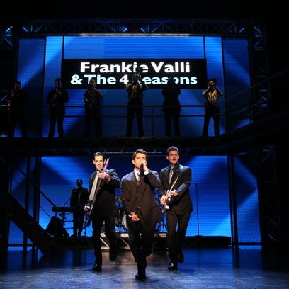 """""""Jersey Boys"""" continues through Sunday at the Fox Cities Performing Arts Center in Appleton."""