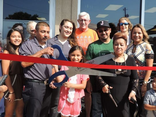 Julio's Burritos celebrated a grand opening for the