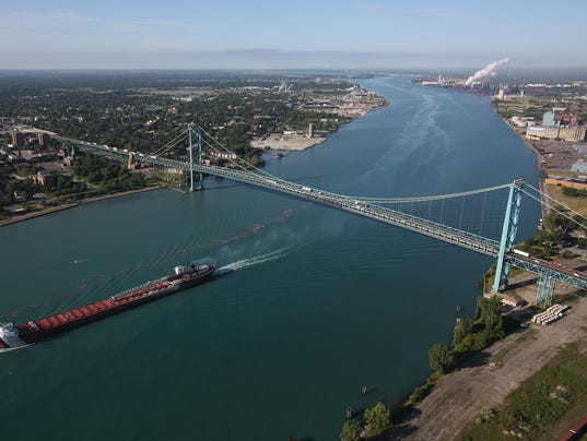 Ambassador bridge 063014