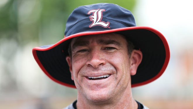 Louisville's Dan McDonnell says Omaha experience has 'distractions good and bad' but 'you're going there because you're playing good baseball.'