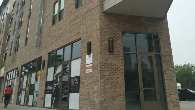 Sea Salt opens this summer on the peninsula tip of the Millikan on Mass building at Mass Ave and Michigan Street.