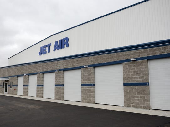 Jet Air had a grand opening for its new 36,000-square-foot