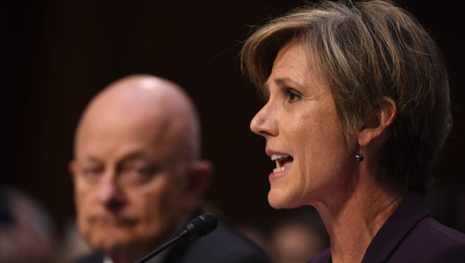 Sally Yates on Capitol Hill on May 8, 2017.