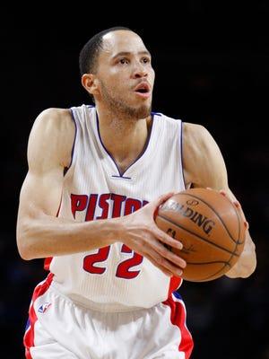 Apr 4, 2015; Detroit Pistons forward Tayshaun Prince.