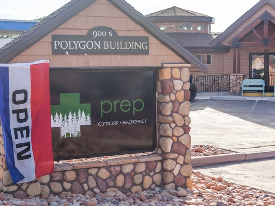 The Prep Outdoor and Emergency store at 900 S. Main