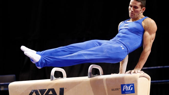 Alex Naddour of Queen Creek advanced to the pommel horse finals for the first time at the World Gymnastics Championships.