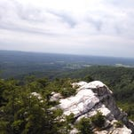 This photo of the sweeping view at Bonticou Crag was shot during the My Valley hike at Mohonk Preserve on July 26.