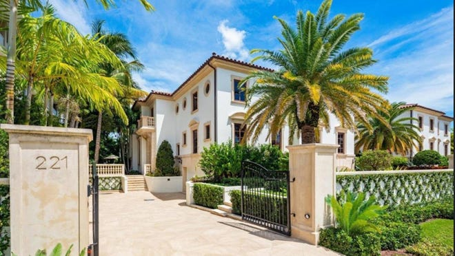 In Midtown Palm Beach, a condominium at 221 Brazilian Ave. has sold for a recorded $7 million, the first of the four units in the Palazzo Villas to change hands.