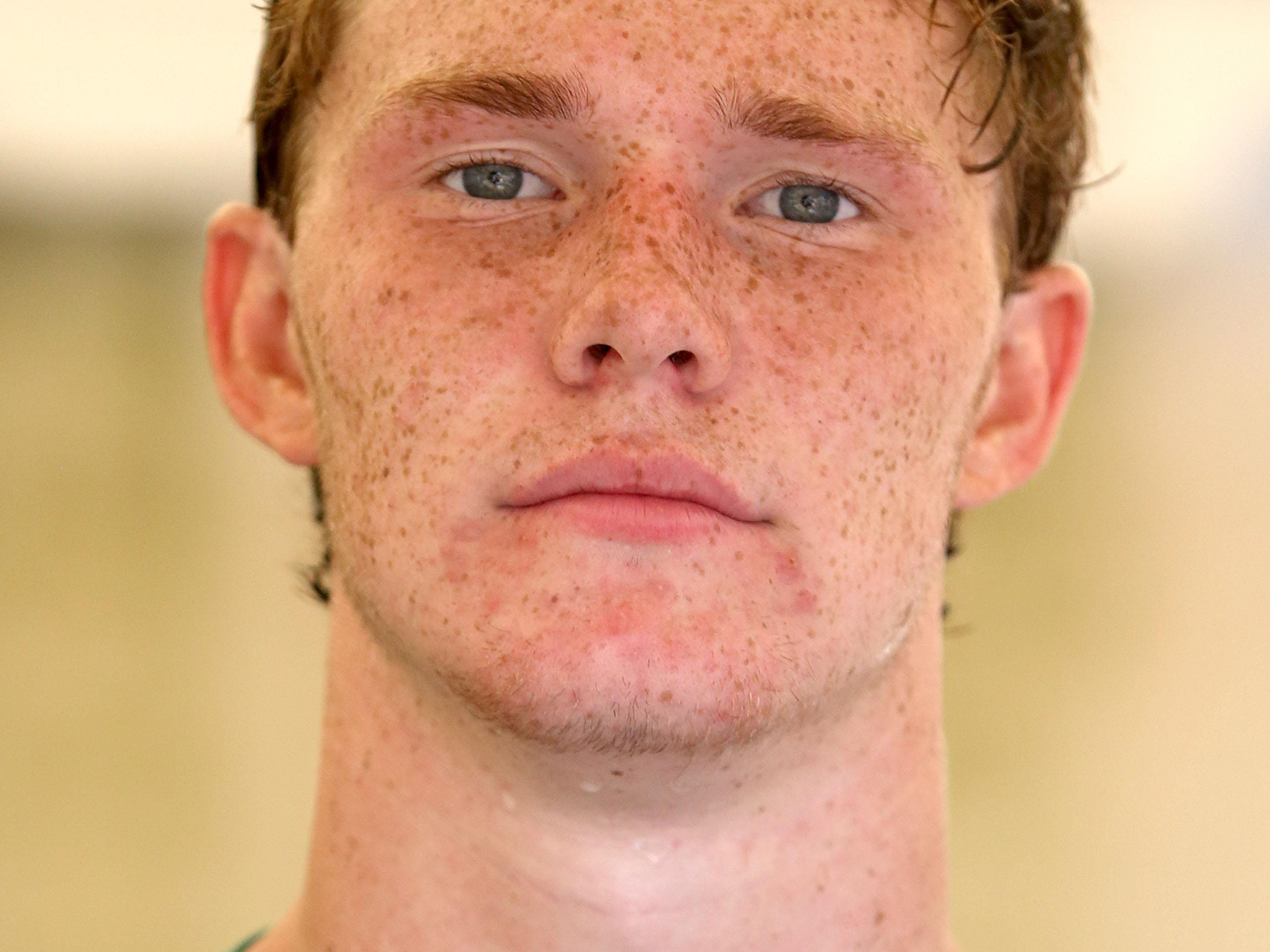 West Salem High School's Jacob Kizer poses for a photo on Tuesday, Aug. 19, 2014, in Salem, Ore.