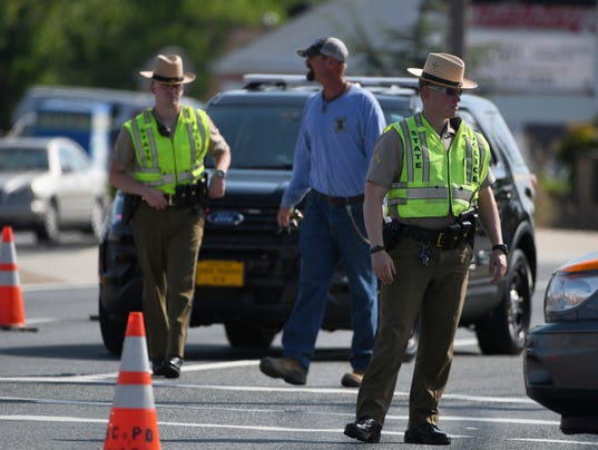 Officer Shot Maryland