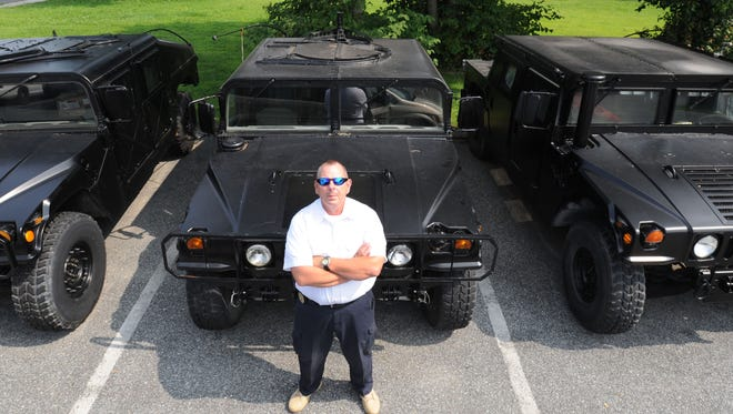 Delaware law enforcement agencies have steadily acquired more military gear over the past four-plus years.