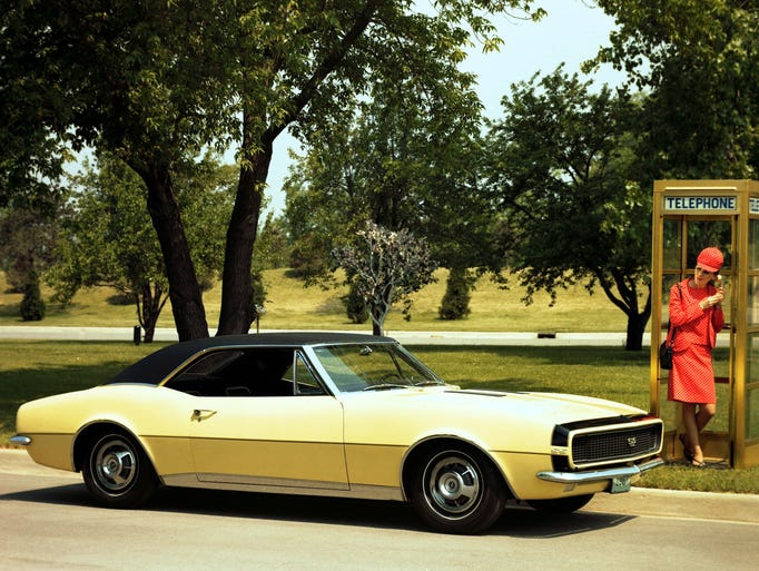 The 1967 Camaro was GM's answer to the success of Ford's