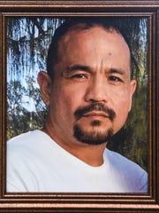 A photo of Gilbert Alvarez Jr. taken during a family
