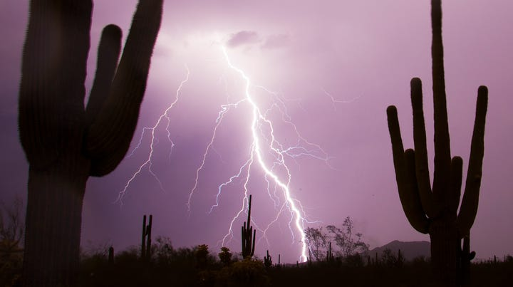 How not to get struck by lightning