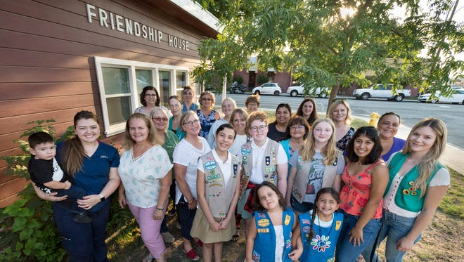 Girls Scouts are celebrating 70 years at the Friendship House in Visalia.