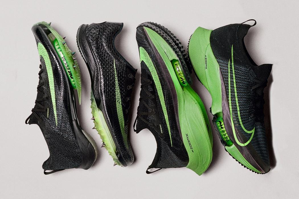 Nike's newest running sneakers: one is
