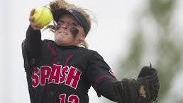 SPASH's Aubrey Drohner struck out 12 as the Panthers held off D.C. Everest 4-3 in a Wisconsin Valley Conference softball game Tuesday.