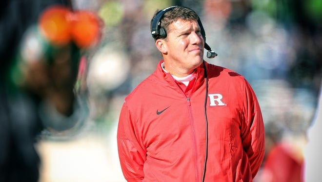 Rutgers first-year head coach Chris Ash is still looking for his first Big Ten victory.