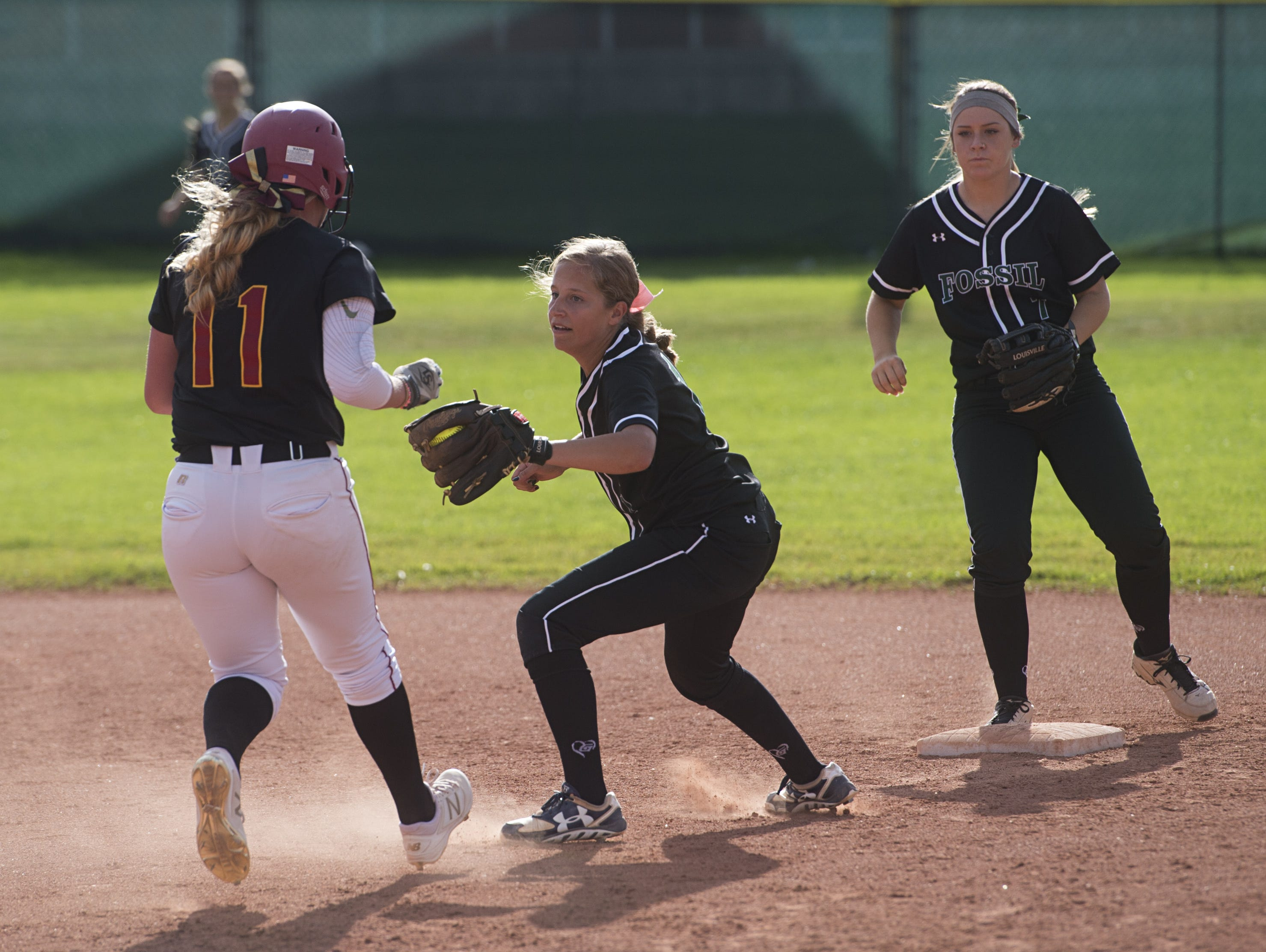 The Fossil Ridge and Rocky Mountain softball teams are No. 11 and 12, respectively, in 5A in RPI score, which is used to determine playoff fields.