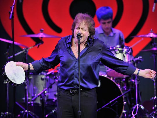 Eddie Money performs on stage during the iHeart80s