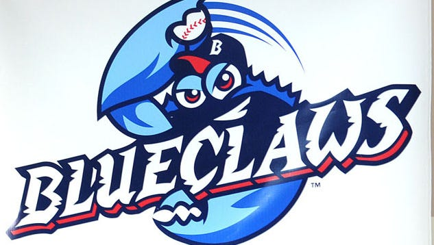 new BlueClaws logo, aug. 19, 2009