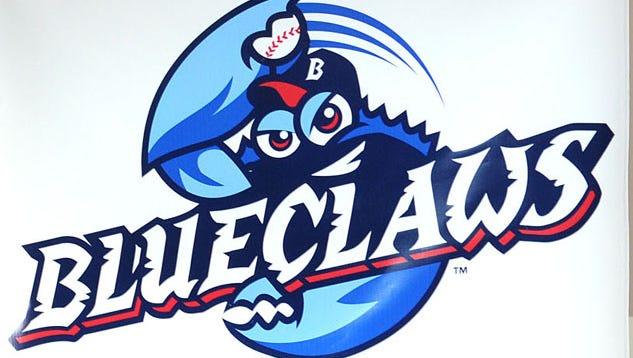 new BlueClaws logo, aug. 19, 2009