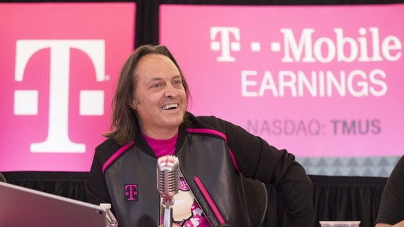 T-Mobile CEO John Legere will lead the combined company.