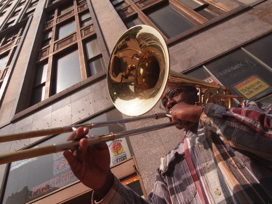 Trombonist Kenneth Thompkins joined the DSO in 1997.