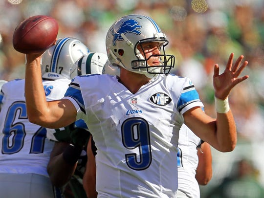 Detroit Lions quarterback Matthew Stafford could be in store for a big week.