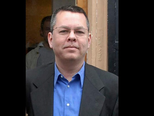 Turkey US Pastor Trial