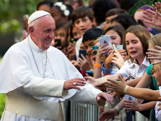 AP US POPE FRANCIS A USA DC
