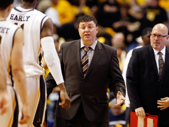LSU assistant coach Greg Heiar during his time as an assistant with Wichita State.