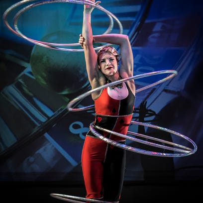 This Weekend: Get close to amazing acrobats