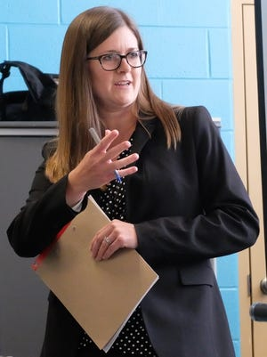 Kristen Myers, the lawyer who will help West End residents negotiate changes to a community benefits agreement with FC Cincinnati on Wednesday, May 16, 2018.