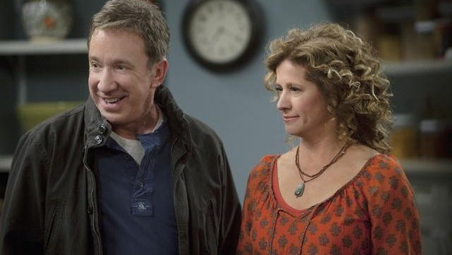 """Tim Allen and Nancy Travis in """"Last Man Standing,"""" which ABC canceled in May."""