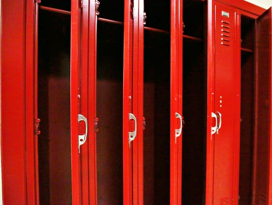 Dover Area High School lockers