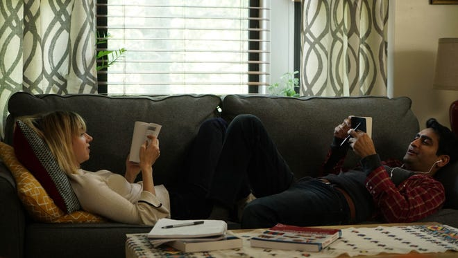 Kumail Nanjiani plays a loose version of himself in 'The Big Sick,' which premiered at Sundance Film Festival Friday.