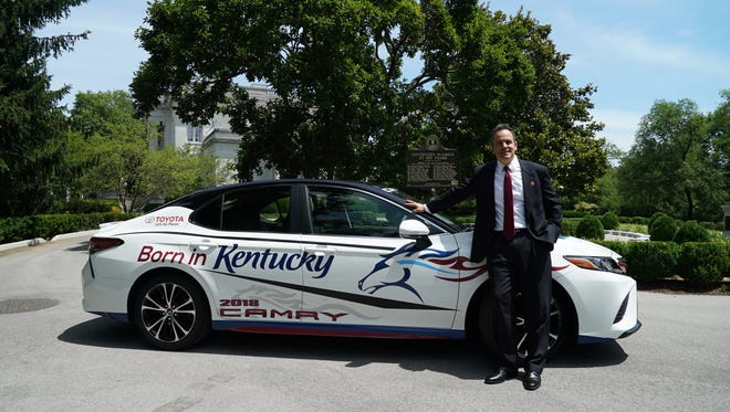Gov. Matt Bevin will be the honorary pace driver for the Quaker State 400 race at the Kentucky Speedway this weekend.