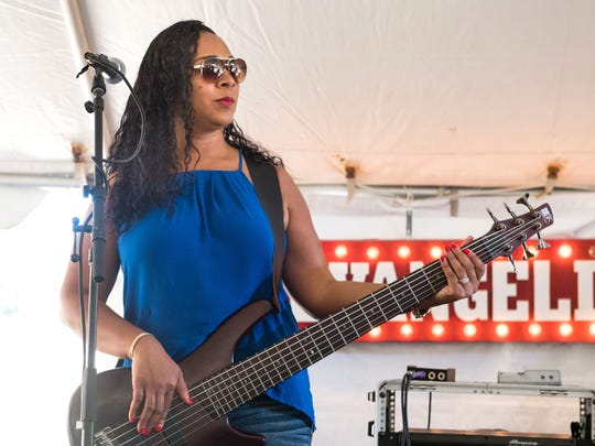 Jennifer Frank Ledet, Zion Gennuso's mother, is a longtime bass player with Keith Frank and the Soileau Zydeco Band.