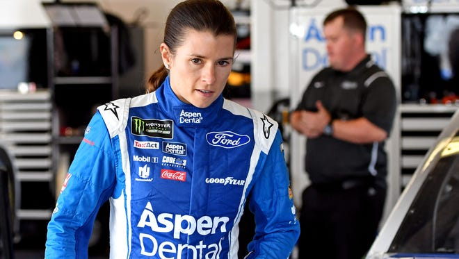 Danica Patrick participated with Vonn Miller, Michael Phelps and other sports stars in a 'mean Tweets' video.