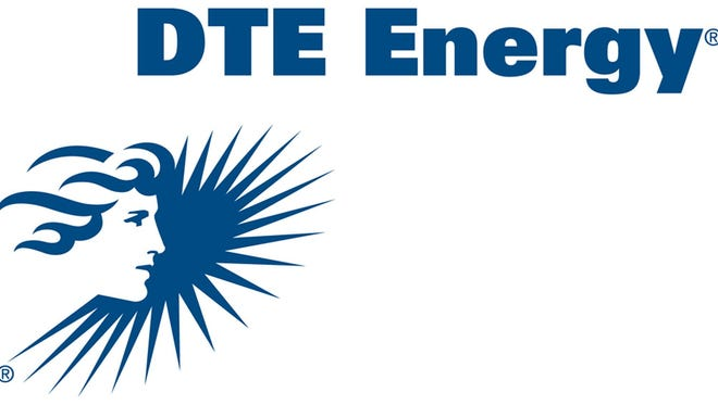 This is the logo of DTE Energy Co. via Bloomberg News.