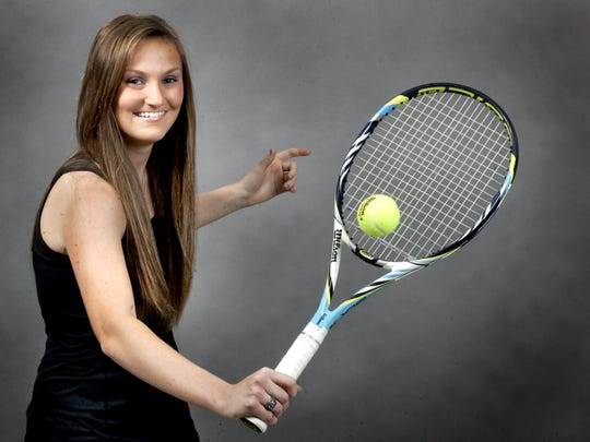 Former Siegel tennis star Ashlee Boles won a state singles title and state doubles title in her career. She will be part of the inaugural Siegel Hall of Fame class.